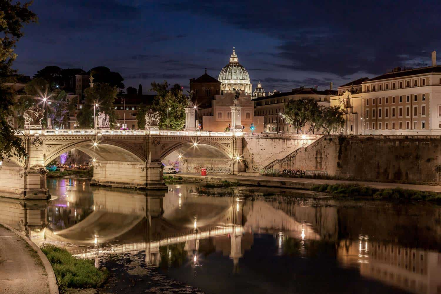Rome-at-night-Photography